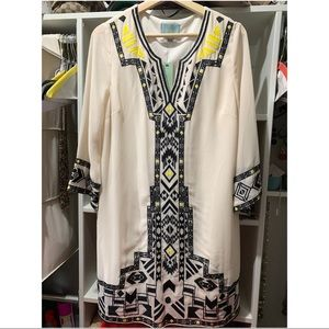 NWT Embroidered Dress